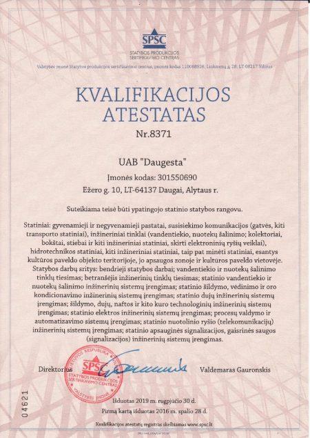 KVALIFIKACIJOS ATESTATAS Nr.8371-page-001